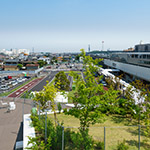 Landscape view from rooftop of Art Museum & Library, Ota (太田市美術館・図書館)