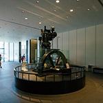 Lobby space of Yanmar Museum (ヤンマーミュージアム)