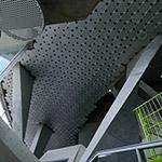 Lounge of Akiha Ward Cultural Center (秋葉区文化会館)