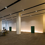 Lounge space of Nagaoka City Hall Aore (アオーレ長岡)