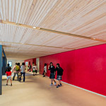 Main entrance hall of Toyama Prefectural Museum of Art & Design (富山県美術館)