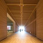Main passage of Toyama Prefectural Museum of Art & Design (富山県美術館)