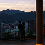 Observatory of Orizuru Tower (おりづるタワー)