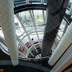 Pillars in Sendai Mediatheque (せんだいメディアテーク)