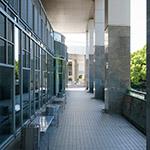 Pilotis of Hiroshima City Museum of Contemporary Art (広島市現代美術館)