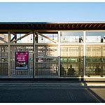 Platform of Akita Station West Exit Bus Terminal (秋田駅西口バスターミナル)