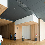 Rest hall space of Toyama Prefectural Museum of Art & Design (富山県美術館)