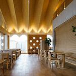 Restaurant space of SUIDEN TERRASSE