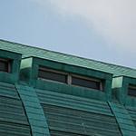 Roof of Kita-Kyushu City Central Library (北九州市立中央図書館)