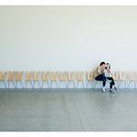Sanaa chairs in 21st Century Museum of Contemporary Art, Kanazawa (金沢21世紀美術館)