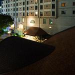 Senri Hankyu Hotel from above (千里阪急ホテル).
