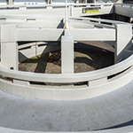Slope of Komazawa Olympic Park Stadium (駒沢オリンピック公園総合運動場陸上競技場)