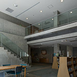 Stair hall, inside of Nishinomiyahama Public Hall (西宮市立西宮浜公民館)