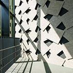 Stair space of Historic sites Kanayama Castle guidance facilities and Ota City Kanayama Regional Exchange Center (史跡金山城跡ガイダンス施設・太田市金山地域交流センター)