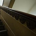 Stair space of Shibakawa Building (芝川ビルディング)