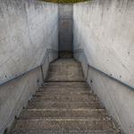 Stair to enter of Hompukuji Temple, Mizumido (本福寺 水御堂)