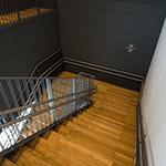 stairs in Toyama Prefectural Museum of Art & Design (富山県美術館)