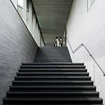Stairs of Sagawa Art Museum (佐川美術館)