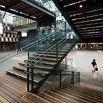 Stairs space of Nagaoka City Hall Aore (アオーレ長岡)