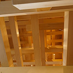 Structures of the roof, COEDA HOUSE (コエダハウス)