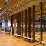Study space in Toyama City Library (富山市立図書館)