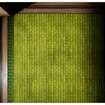 Tatami mat in Japanese Engawa (縁側と紅葉)