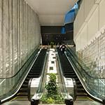 The escalator in Tokyo Garden Terrace Kioicho (東京ガーデンテラス紀尾井町)
