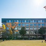 The facade of Amano Teiyu Hall (天野貞祐記念館)