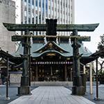 The facade of Kotohira-gu (金刀比羅宮)