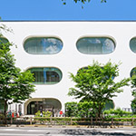 The facade of Musashino Place (武蔵野プレイス)