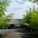 The facade of Nakagawa-machi Bato Hiroshige Museum of Art (那珂川町馬頭広重美術館)