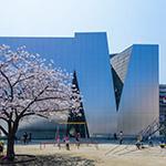 The facade, The Sumida Hokusai Museum (すみだ北斎美術館)
