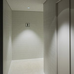 Toilet space in Toyama Prefectural Museum of Art & Design (富山県美術館)