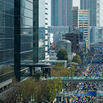 Toyosu Foresia meets Tokyo Marathon 2016 (豊洲フォレシア)