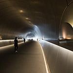 Tunnel of Miho Museum (ミホ・ミュージアム)
