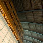 Upward of Inside of Kyushu National Museum (九州国立博物館)