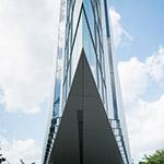 Upward of Tokyo Institute of Technology Library (東京工業大学附属図書館)