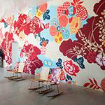 Wall art in 21st Century Museum of Contemporary Art, Kanazawa (金沢21世紀美術館)
