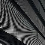 Yoshida Printing Inc. Tokyo Head Office Building on the wall (ヨシダ印刷株式会社 東京本社ビル)
