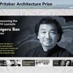 プリツカー賞2014受賞者:坂茂氏設計の建築物をGoogle Mapにまとめ