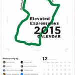 高架道路カレンダー2015