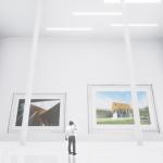 【CG】UE4で作った写真展会場をHTC viveで歩き回ってみよう