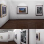 【CG】誰でもすぐに自分のVR写真展が開催出来る。好きな画像を展示するアプリを公開しました(Win)(UE4)