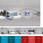 【CG】360度パノラマ(応用編)。視差あり画像を作ってGear VRで見よう【UE4】
