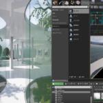 【CG】ネット写真展 SANAA風な展示部屋をBSPブラシで造ろう(UE4)