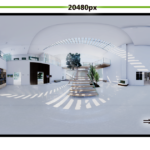 【CG】UE4で1億画素以上のパノラマ画像出力に挑戦する
