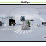 【UE4】1億画素以上のパノラマ画像出力に挑戦する (Panoramic Movie Capture)