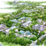 【話題】奈良公園内に和風ホテル。開発業者に森トラスト。デザインは隈研吾氏。2020年春
