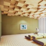 【話題】海外では畳を壁や天井にも使うらしい? と聞いて試しに部屋を造ってみる(UE4)
