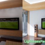 【CG】LightmassReplaceノードで床の反射光の色を調整して、白く透明感のある雰囲気を作ろう【UE4】